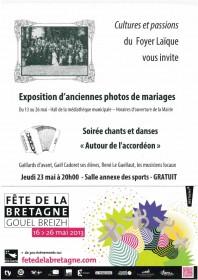 affiche expo mariages FLC