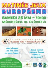 matinée jeux européens